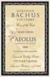 2008 Aeolus&#xA;Keeper of the Winds